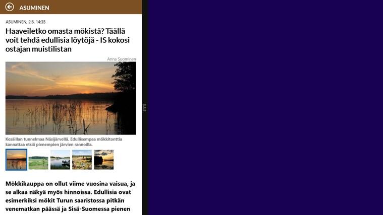 Ilta-Sanomat näyttökuva 6