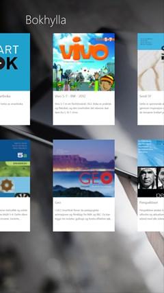 Smartbok skjermbilde 2