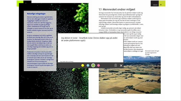 Smartbok skjermbilde 6