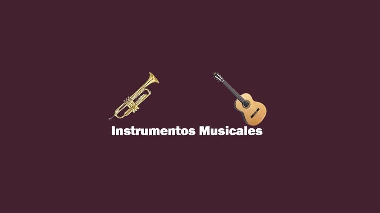 Instrumentos Musicales captura de pantalla 0