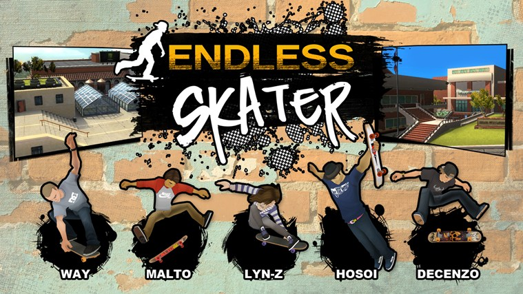 Endless Skater screen shot 0