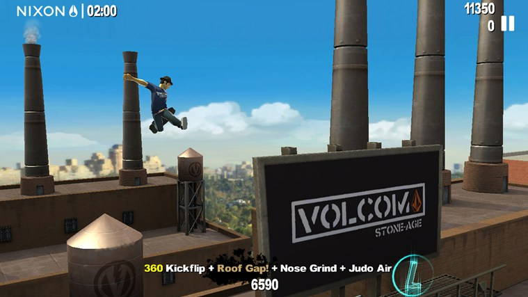 Endless Skater screen shot 2