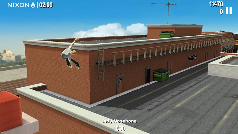 Endless Skater screen shot 4