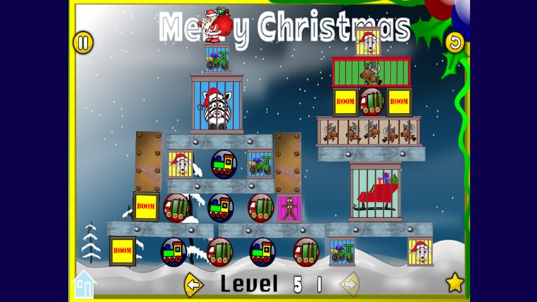 Rescue Xmas screen shot 2