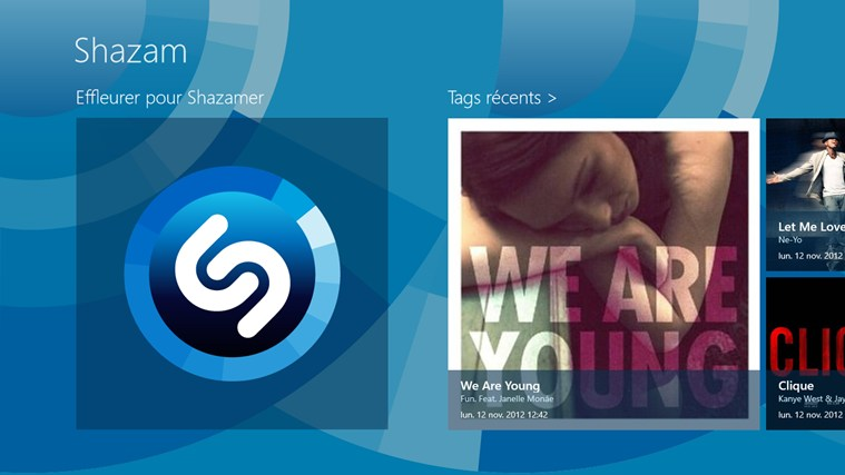 Shazam capture d'écran 0