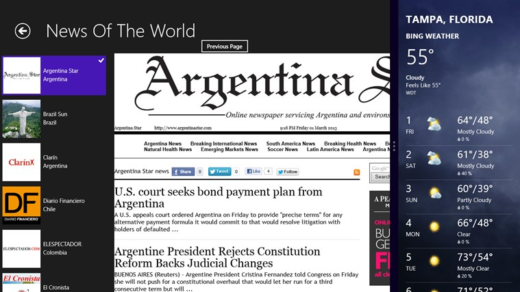 News Of The World screen shot 6