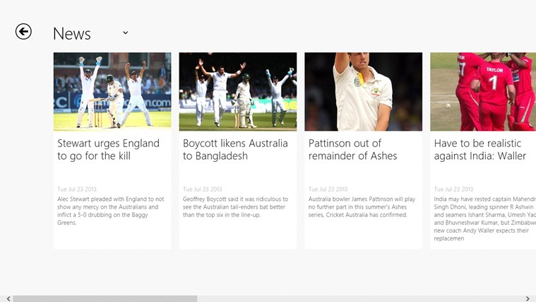 Cricbuzz screenshot 2