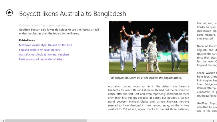 Cricbuzz screenshot 4