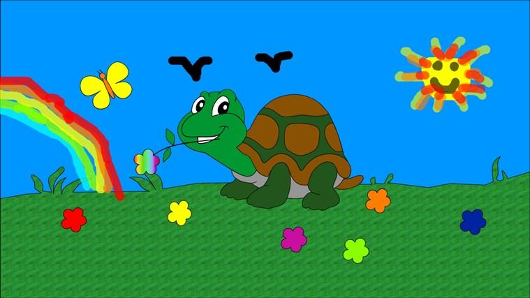 Paint 4 Kids cattura di schermata 0
