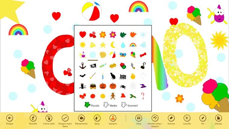 Paint 4 Kids cattura di schermata 2