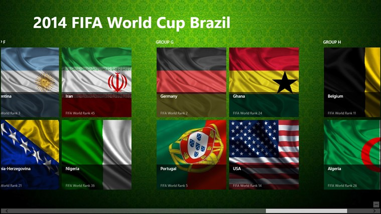 2014 Fifa World Cup Brazil 2014 screen shot 2