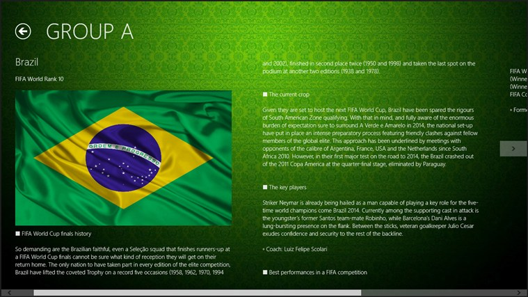 2014 Fifa World Cup Brazil 2014 screen shot 4