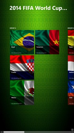 2014 Fifa World Cup Brazil 2014 screen shot 6