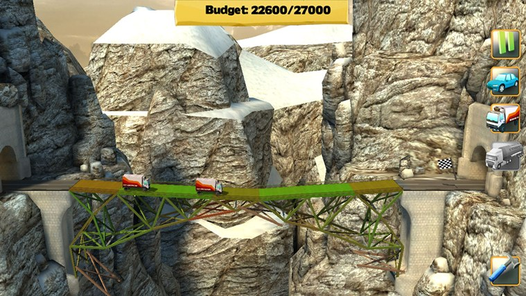 Bridge Constructor screen shot 4