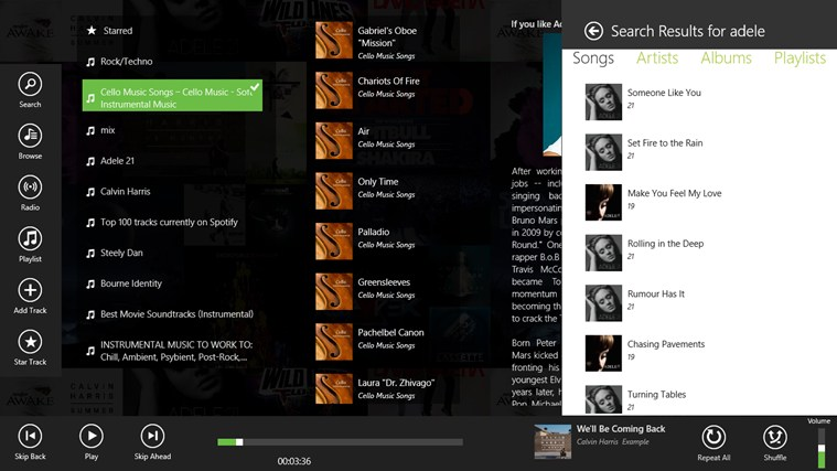 Spotlite - Listen to Spotify screen shot 4