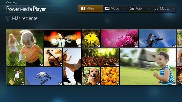CyberLink Power Media Player captura de pantalla 0