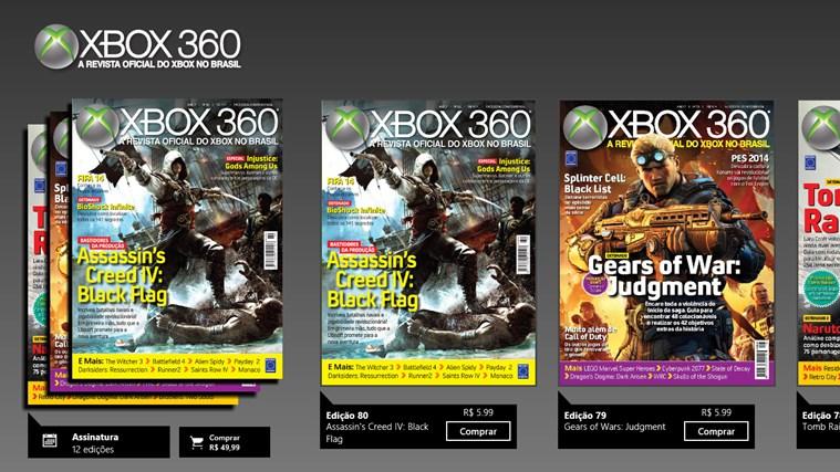 Revista Oficial do Xbox captura de tela 0