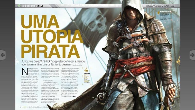 Revista Oficial do Xbox captura de tela 2