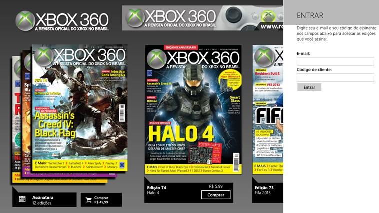 Revista Oficial do Xbox captura de tela 6