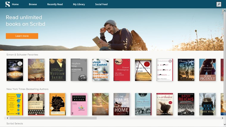 Scribd - Read Unlimited Books screen shot 0