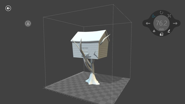 3D Builder screen shot 4