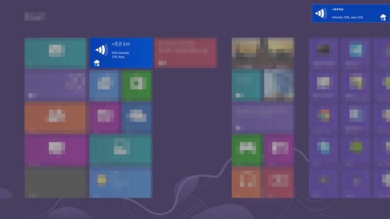 Rain Alarm screen shot 2