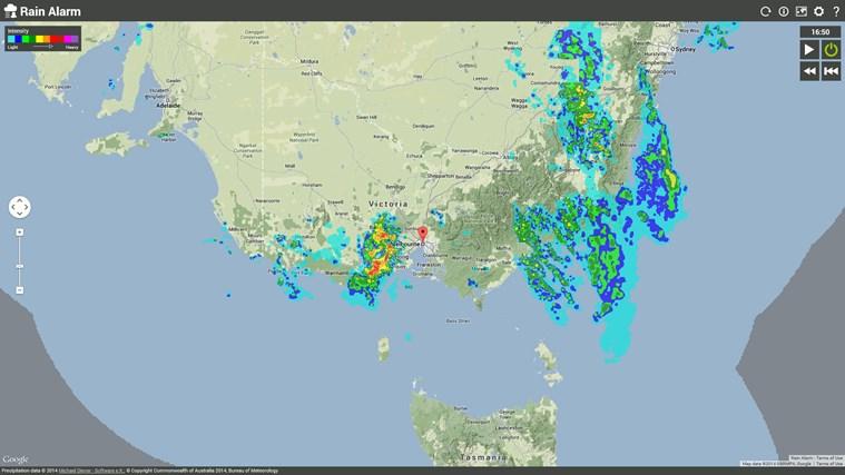 Rain Alarm screen shot 4