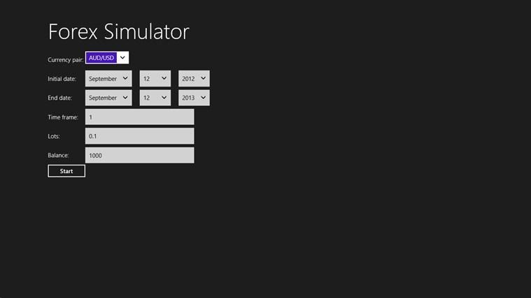 Forex simulator freeware