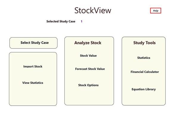 StockView full screenshot