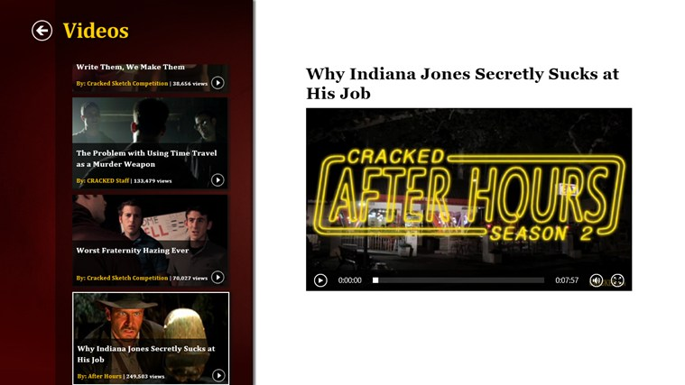 Cracked.com screen shot 6