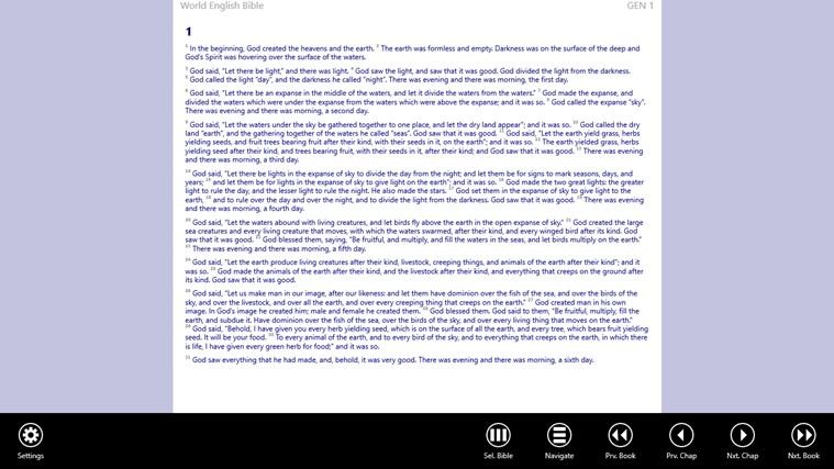 Bible App schermafbeelding 0