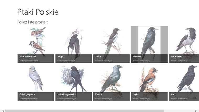 Ptaki Polskie screen shot 0
