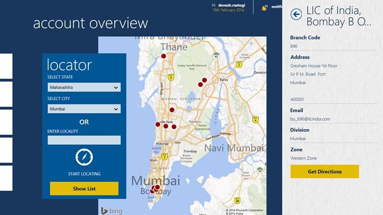 LIC Mobile screen shot 4