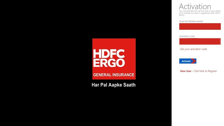 HDFC ERGO Insurance Portfolio screen shot 0