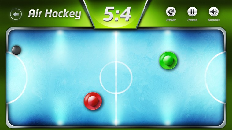 AirHockey screen shot 0