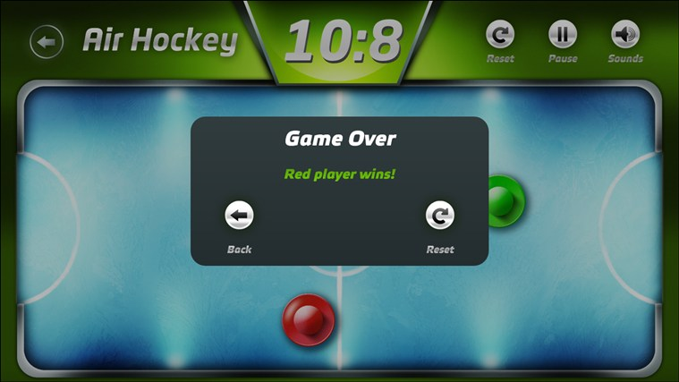 AirHockey screen shot 6