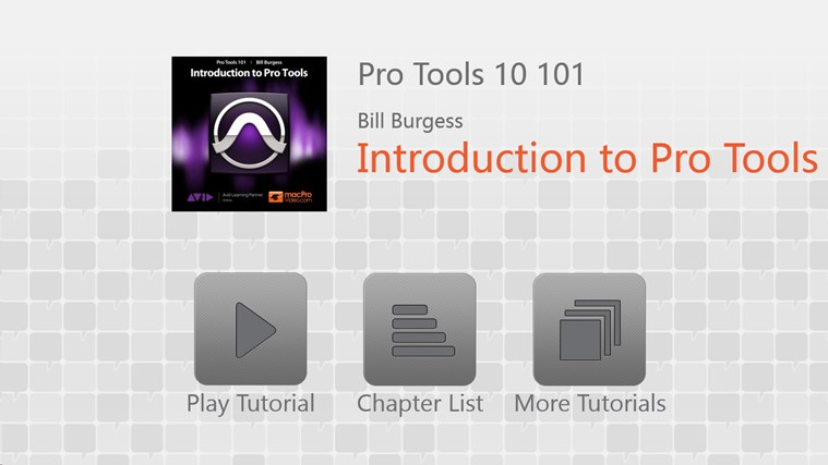 Pro Tools 10 101 - Introduction to Pro Tools capture d'écran 0