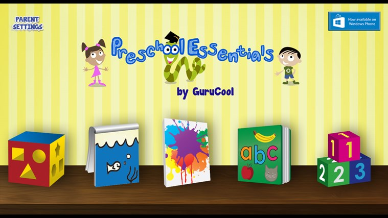 Learning Games for Kids ( Educational Preschool activities in English) screen shot 0
