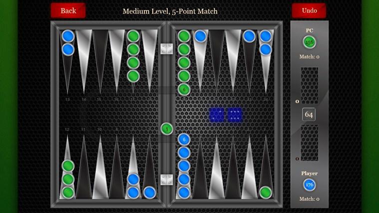Backgammon Pro screen shot 2