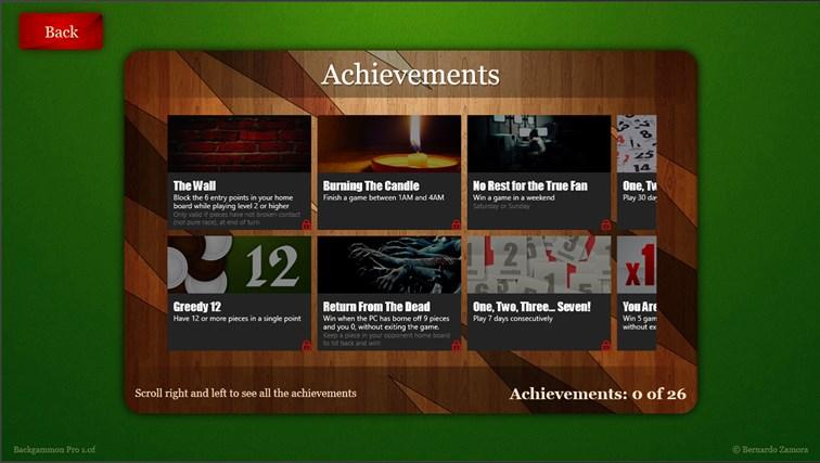 Backgammon Pro screen shot 6