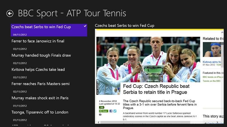 ATP Tour Tennis screenshot 2