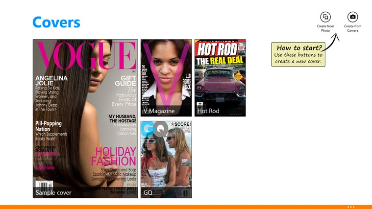 Covers screen shot 0