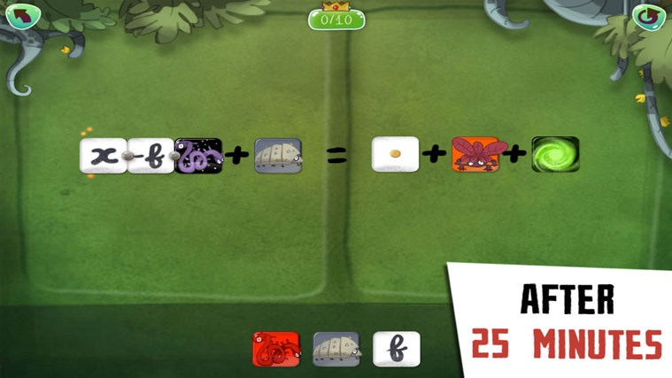 DragonBox Algebra 12+ screen shot 2