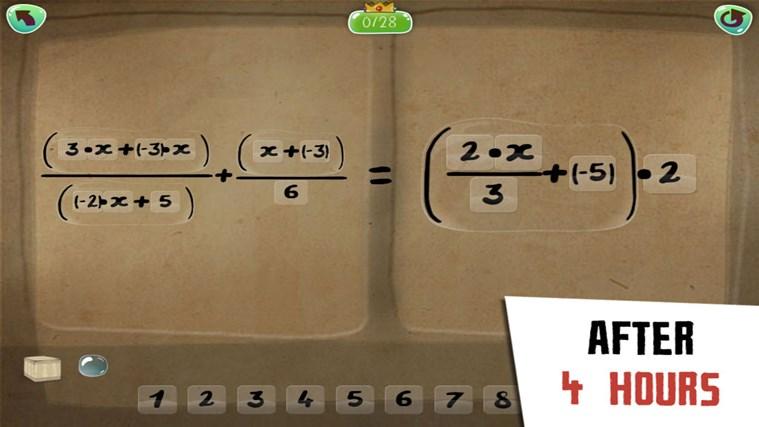 DragonBox Algebra 12+ screen shot 4