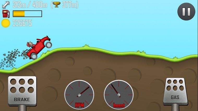 Hill Climb Racing screen shot 0