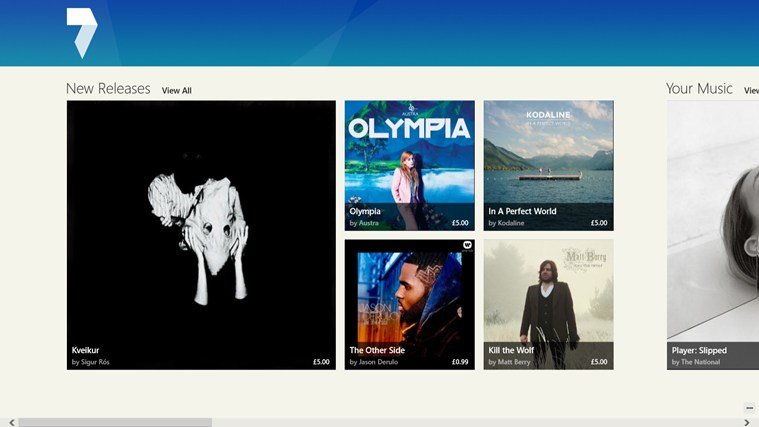 7digital Music Store screen shot 0