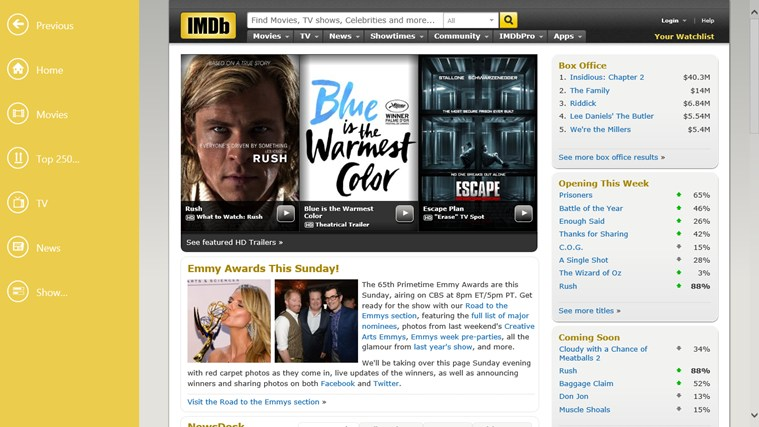 IMDb HD screen shot 0