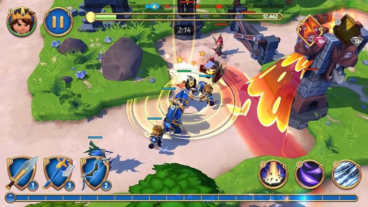 Royal Revolt 2 petikan skrin 2