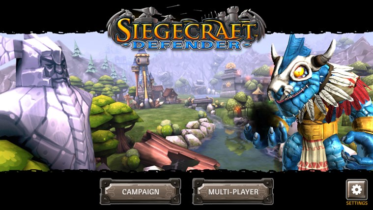 Siegecraft Defender screen shot 0