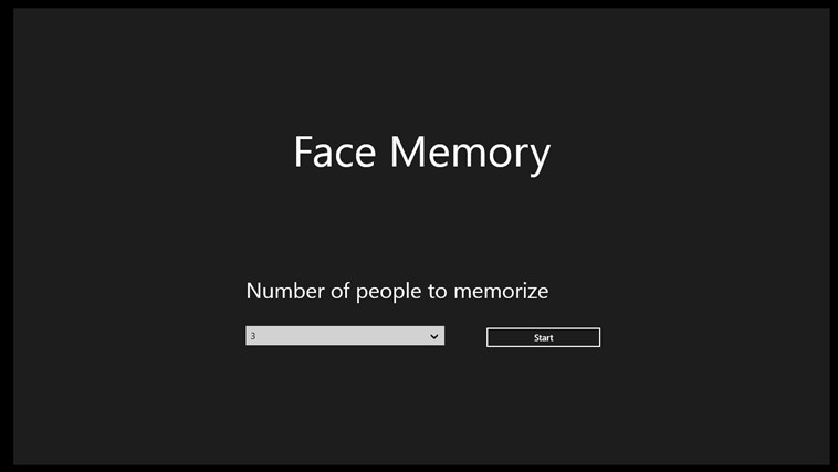 Face Memory screen shot 0